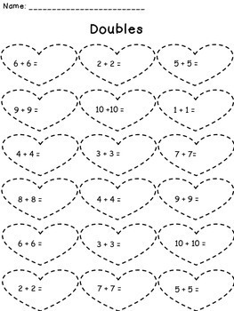 February Addition and Subtraction Worksheet Packets Bundle
