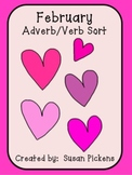 February Adverb Verb Sort