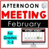February Afternoon Meeting