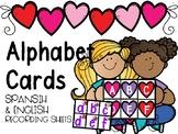 February Alphabet Cards
