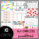 February Alphabet Centers: Editable Letter ID Games and Centers