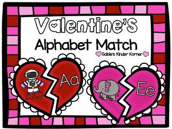 February Alphabet Match!