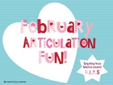 February Articulation Fun!