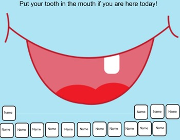 February Attendance- Dental Health