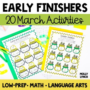 Early Finishers - March