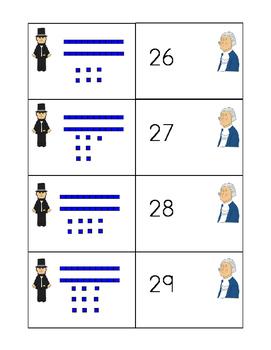 February Base Ten Number Matching Center Bundle