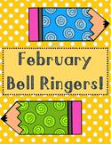February Bell Ringers Or Exit Slips!