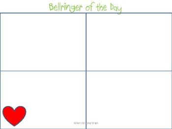 February Bellringers Freebie