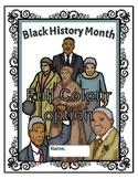 February- Black History Month Lapbook