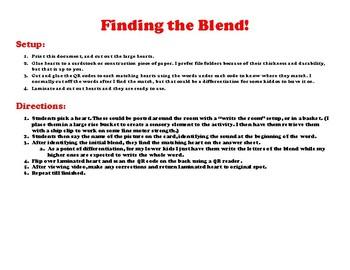 February Blend's QR Activity