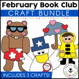 February Book Club {Duck President, Groundhogs Day Off, Day It Rained Hearts}