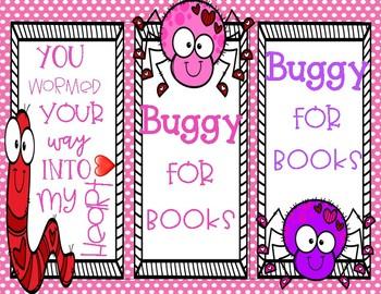 February Bookmark Freebie
