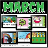 March Boom Cards / Morning Work for Distance Learning