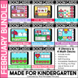 February Boom Cards™ for Kindergarten | Digital Resource