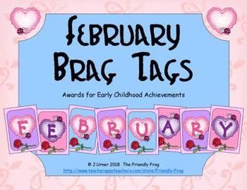 February Brag Tags