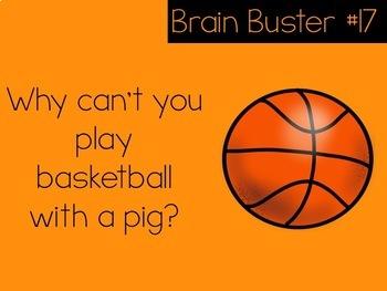 February Brain Busters