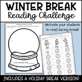 Winter Break Reading Challenge Updated