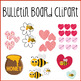 "February Valentines Day Bulletin Board Kit ""Bee Mine"" Theme"