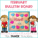 February Bulletin Board | With Writing Prompt