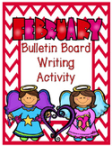 FREEBIE February Bulletin Board Writing Activity