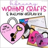 February Bulletin Board Writing Crafts