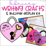 February Bulletin Board Writing Crafts