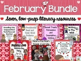 Literacy Centers: February | Valentine's Day Activities Bl
