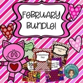 February Bundle - Dental Health, Valentine's Day, Groundho