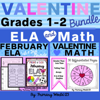 February Bundle!   ELA & Math
