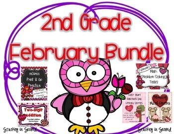 February Bundle {Math and Literacy}