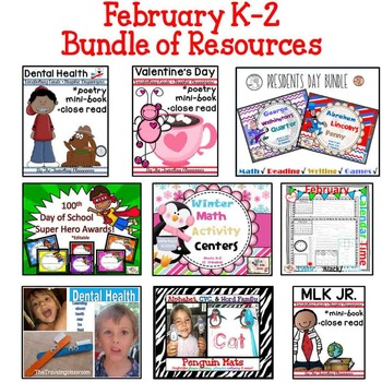 February Mega Bundle The Traveling Classroom