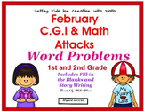 C.G.I & Math Attack Common Core February Combo Pack!
