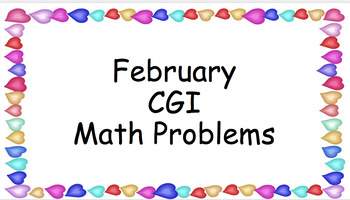 February CGI Math Problems