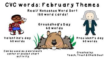 February CVC Real/Nonsense Sort