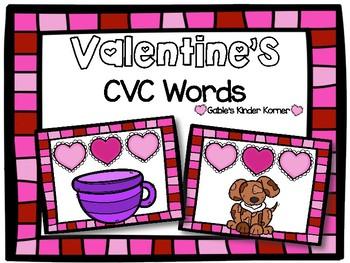 February CVC Words!