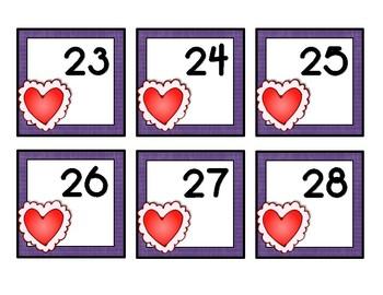 February Calendar Cards