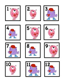 Feb. Calendar Cards: Great For Regular or Small Sized Calendars