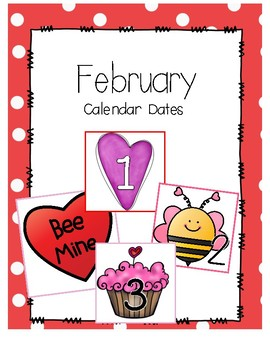 February Calendar Days