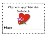February Calendar Journal Pages