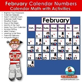 February Calendar Keepers and Activities - [Math Stations]