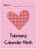 February Calendar Math