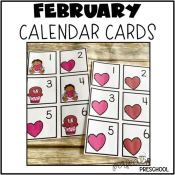 February {Valentine's Day} Calendar Cards