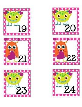 February Calendar Pieces