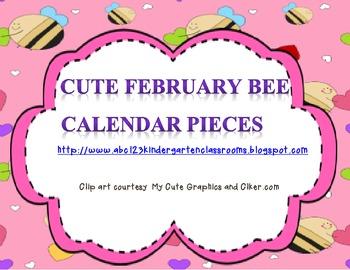 February Calendar Pieces 2014