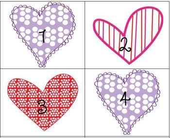 February Calendar Pieces - Set of 3