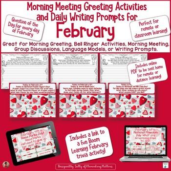 February Calendar Questions