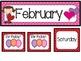 February Calendar Set-Polka Dots