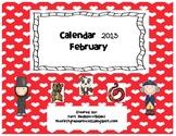 February Calendar and Activity