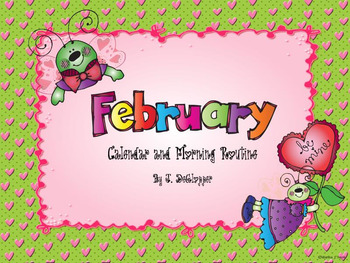 February Calendar and Morning Routine