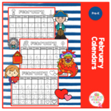 February Calendars